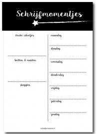 Schrijfmomentjes blok, A5