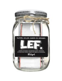 LEF, Kletsen, dollen, durven en uitdagen. (vanaf 12 jaar)