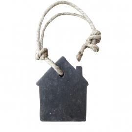 Zeep hanger huisje, grijs