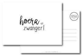 Postcard: Hoera zwanger!