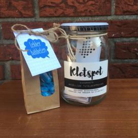Kerst pakket: kletspot (naar keuze) en lekker babbelen