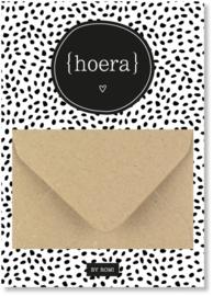Geldkaart: hoera