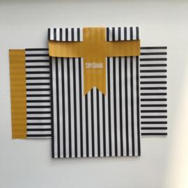 2 kadozakjes 12x19 cm (A6), inclusief sticker