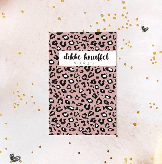 Minikaartje: Dikke knuffel voor jou (M)