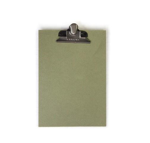 Klembord A4, vintage groen