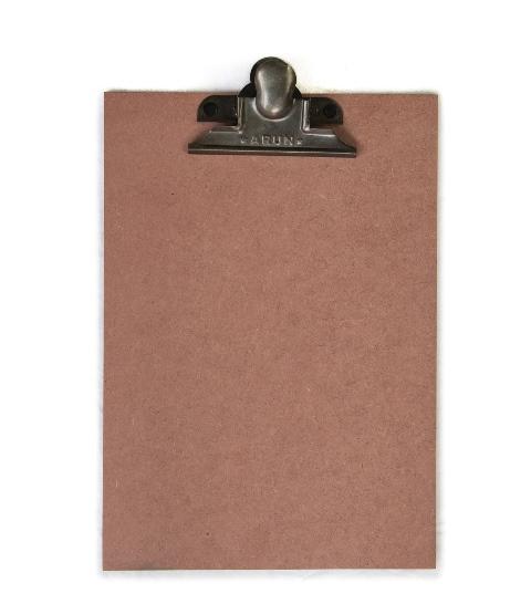 Klembord A4, vintage roze/nude