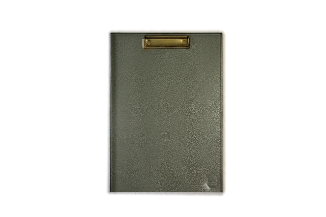 Klembord A4, metaal groen