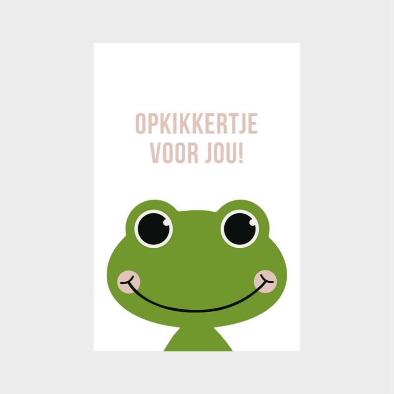 Minikaartje: opkikkertje voor jou!  (K)