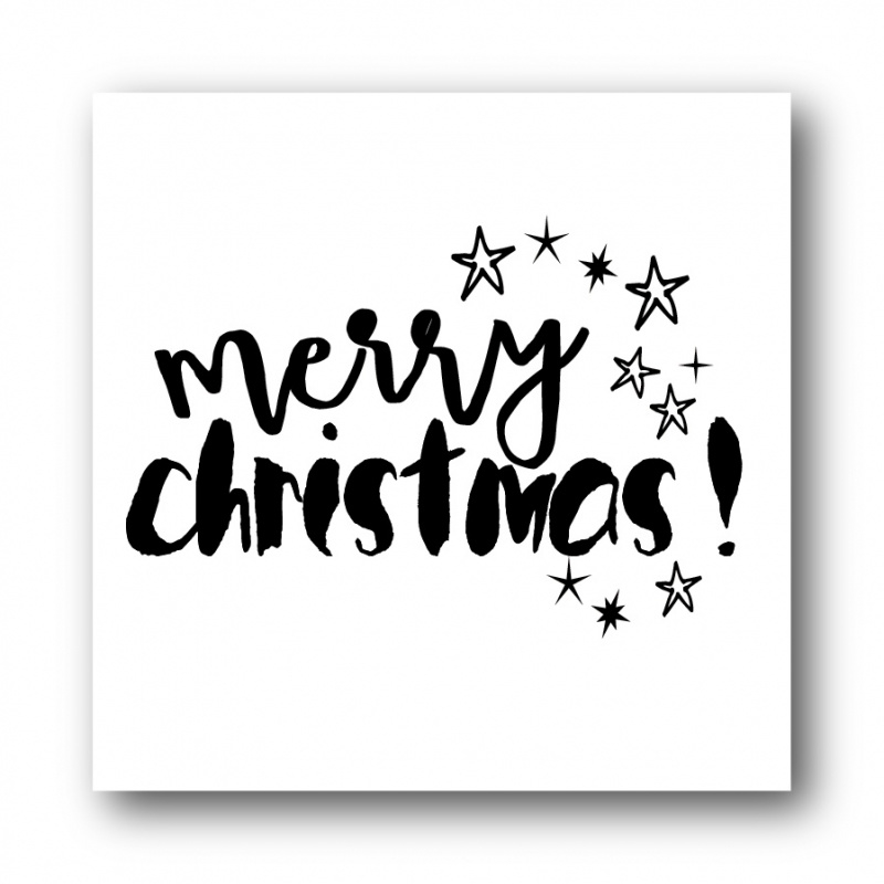 Sticker, Merry Christmas!