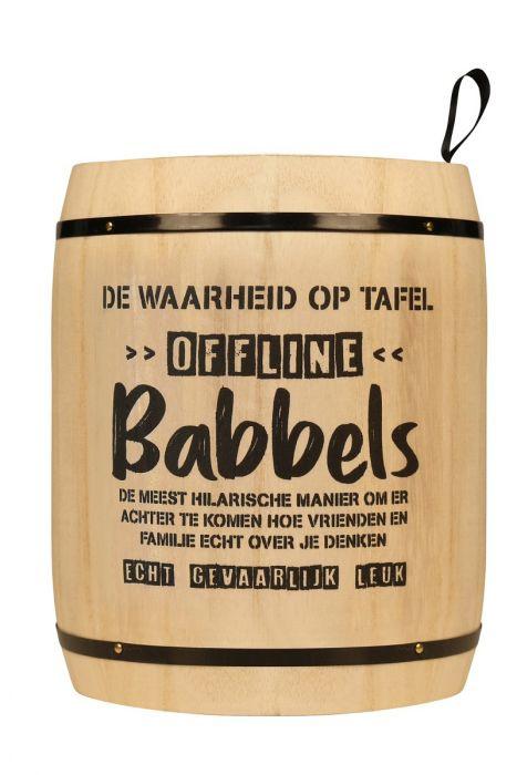 Kletspot: Babbels