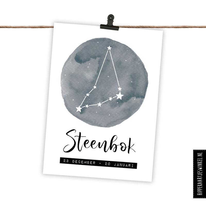 Sterrenbeeldkaart Steenbok