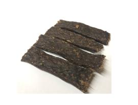 Vleesstrips wild zwijn 4 x 100 gram