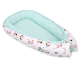 Babynest cocoon fox mint