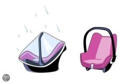 Regenhoes voor autostoeltje