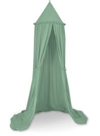 Klamboe/ speeltent  katoen pastel green