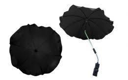 parasol rond zwart brede buizen