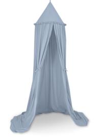 Klamboe/ speeltent  katoen pastel blauw