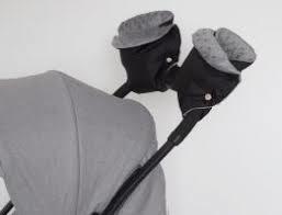 Handschoenen apart voor kinderwagen met fleece