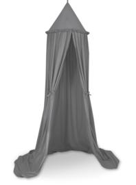 Klamboe/ speeltent  katoen Antraciet grijs