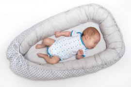 Babynest cocoon grijs design