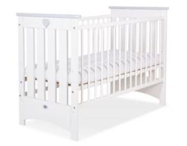 Babybed Lorenzo wit / kleur met of zonder schuif