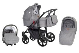 Kinderwagen silver 3in1