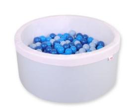Ballenbadje XL blauw + 200 ballen naar keuze