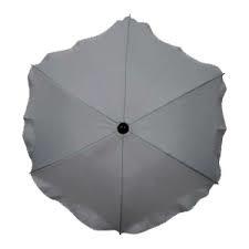 parasol rond melee grijs brede buizen