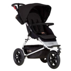 3 wieler Mountainbuggy Swift + gratis draagmand (VoV)