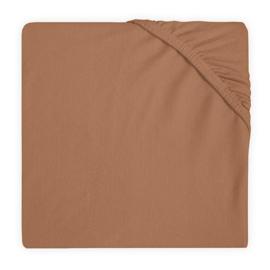 Hoeslaken Jersey bed 60x120 caramel