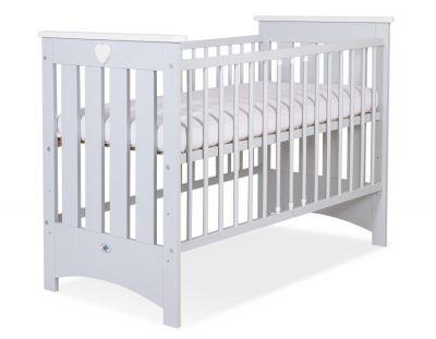 Babybed Lorenzo kleur naar keuze met of zonder schuif