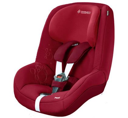 Toonzaal autostoel 2 way Pearl rood
