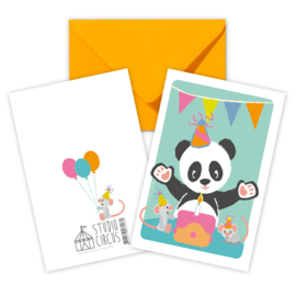 A6 dubbel Panda