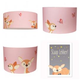 Hanglamp hertjes roze
