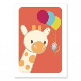 A6 Giraffe balloons