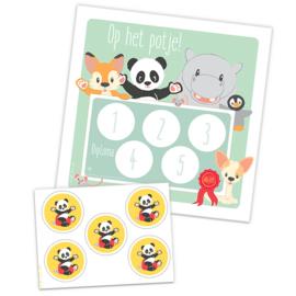 Boek Panda op het potje