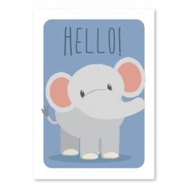 A6 Elephant 'hello'
