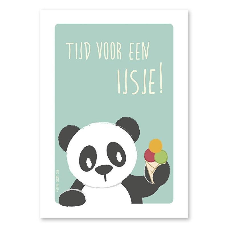 A6 Panda 'tijd voor een ijsje'