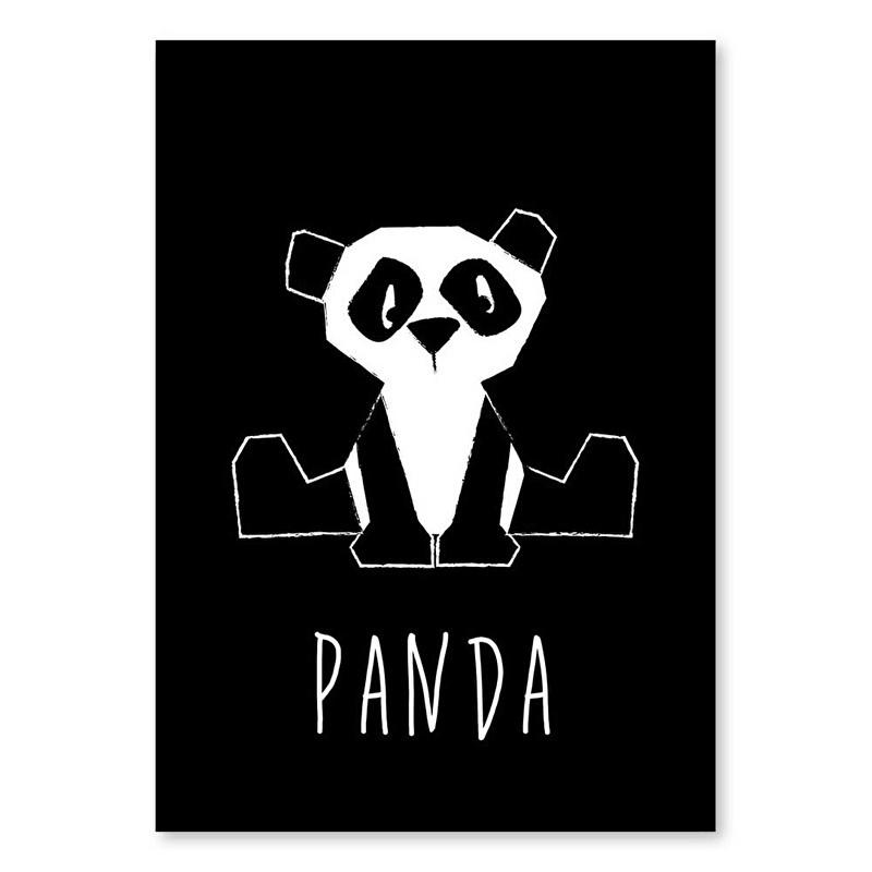 A6 Panda monochrome