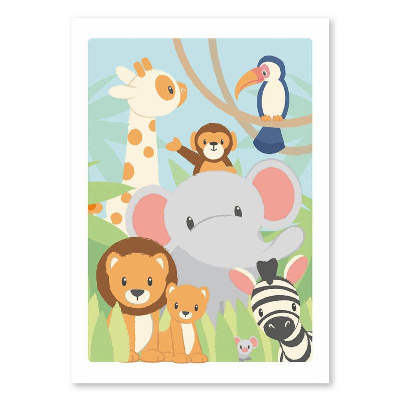 Jungle poster 50x70cm