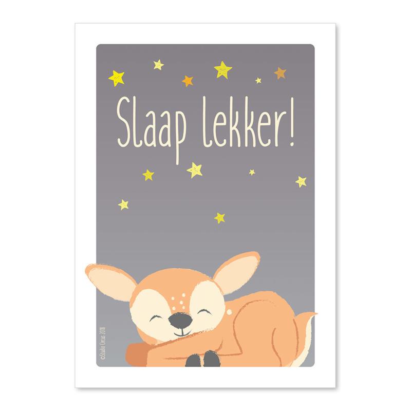 A6 Hertje Slaap lekker!
