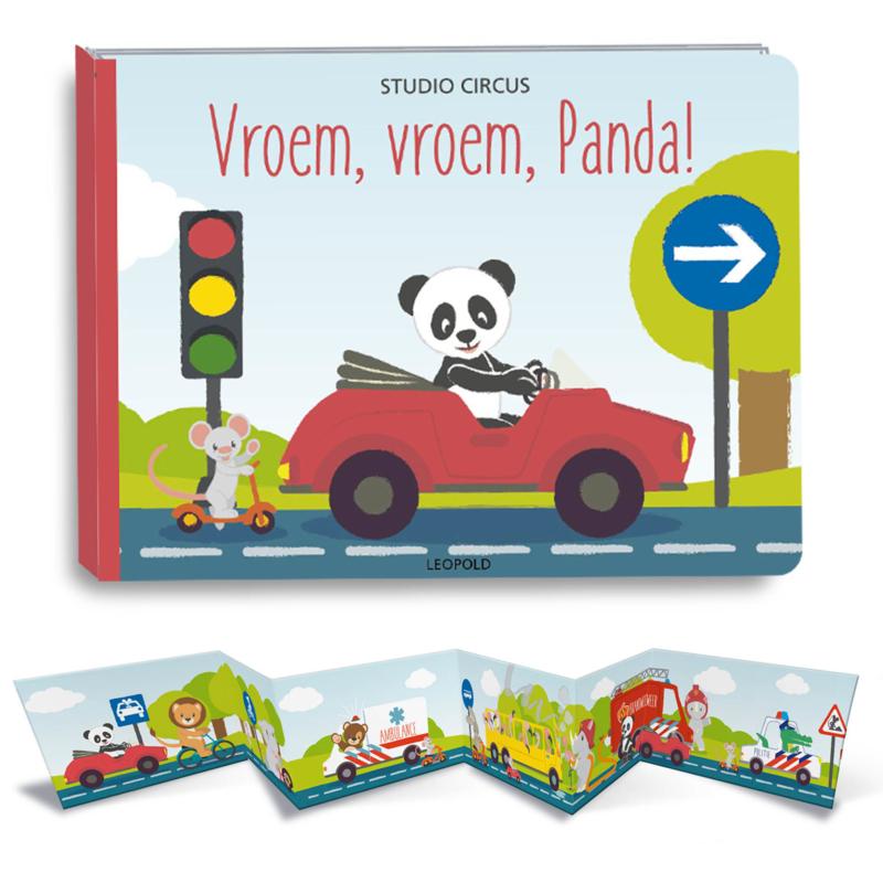 Boek Vroem, vroem, Panda!