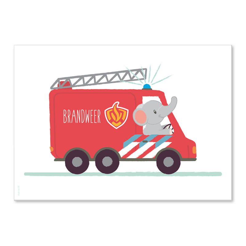 A4 Olifant Brandweer