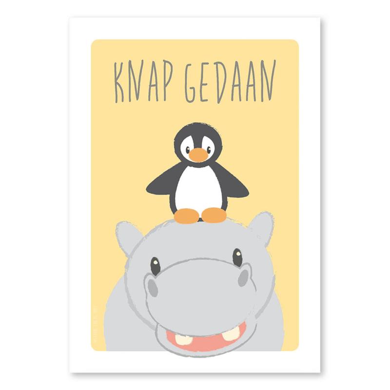 A6 Nijlpaard en pinguïn 'knap gedaan'