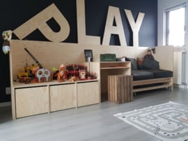 Wandmeubel kinderkamer 'Play'