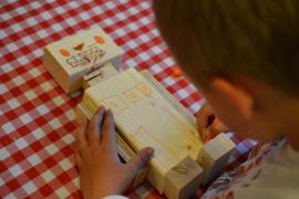 Bouwpakket houten robot