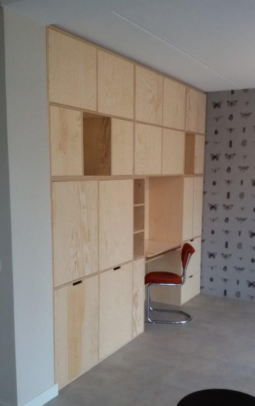 Multiplex Kast Wandkast Met Vakken Maatwerk Vanstoerhout