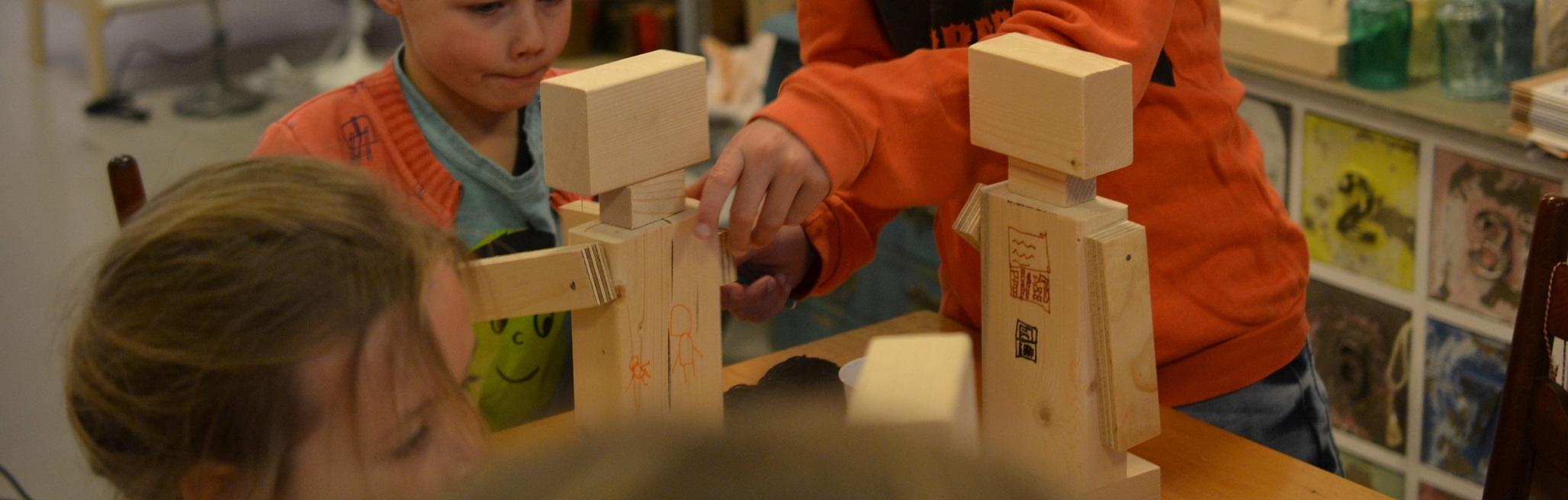 houten robot maken