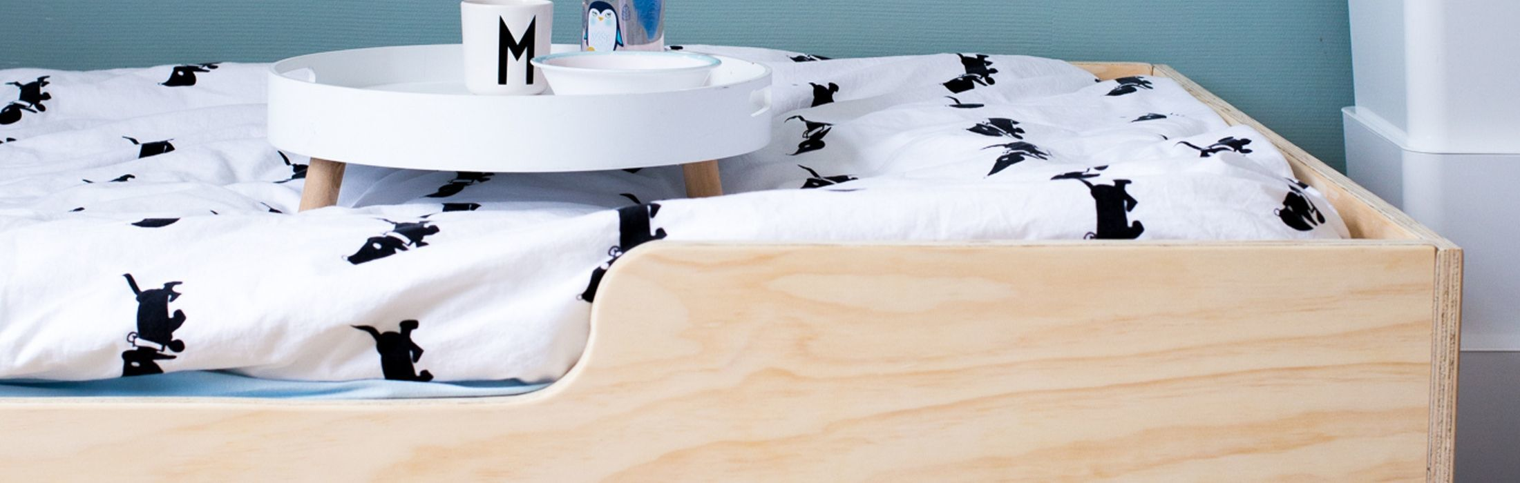 Juniorbed stoer peuterbed Superbed underlayment