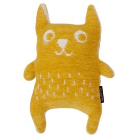 Klippan Knuffel Little Bear geel